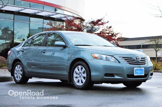 2008 toyota camry hybrid richmond british columbia used car for sale 2634135. Black Bedroom Furniture Sets. Home Design Ideas
