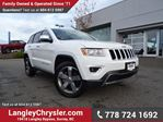 2015 Jeep Grand Cherokee Limited W/ NAVIGATION, PADDLE SHIFTERS & PARKING SENSORS in Surrey, British Columbia