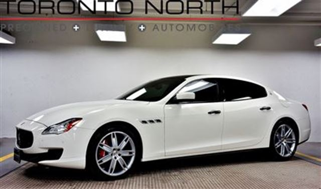 2014 MASERATI QUATTROPORTE GTS NO ACCIDENT in Toronto, Ontario
