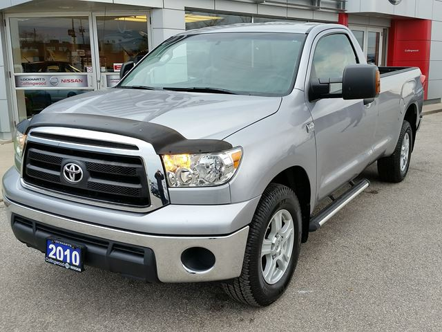 2010 toyota tundra 2wd w sr5 pkg 1 owner collingwood. Black Bedroom Furniture Sets. Home Design Ideas