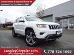 2016 Jeep Grand Cherokee Limited W/ PARKING SENSORS, U-CONNECT BLUETOOTH & PADDLE SHIFTERS in Surrey, British Columbia