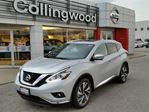 2017 Nissan Murano Platinum AWD w/NAV *NEW* in Collingwood, Ontario