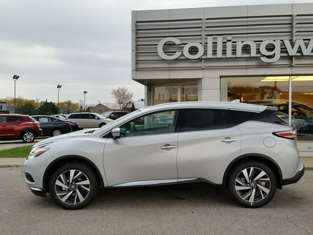 2017 nissan murano platinum awd w nav new collingwood ontario used car for sale 2635291. Black Bedroom Furniture Sets. Home Design Ideas