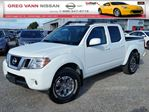 2016 Nissan Frontier PREVIOUS DAILY RENTAL/PRO-4X 4WD w/all leather,power group,rear assist, bedliner,NAV,climate control in Cambridge, Ontario