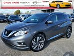 2016 Nissan Murano PREVIOUS DAILY RENTAL/Platinum AWD  w/all leather,NAV ready,pan roof,climate,heated/cooled seats,rear cam in Cambridge, Ontario