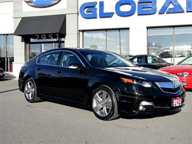 2013 Acura TL Base w/Technology Package RARE 6 SPEED MANUAL . Black | GLOBAL AUTO SALES | Wheels.ca