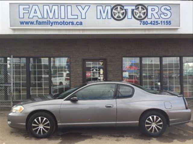 2006 Chevrolet Monte Carlo Lt Only 104k Charcoal Family