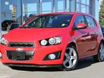 2016 Chevrolet Sonic Certified | Appearance Package | Remote Start | Power Sliding Sunroof | Rear Vision Camera in Kamloops, British Columbia