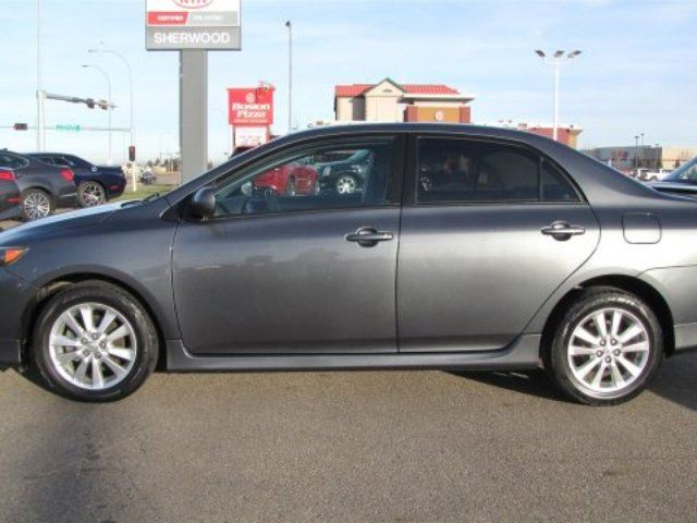 used 2010 toyota corolla s a c edmonton sherwood. Black Bedroom Furniture Sets. Home Design Ideas