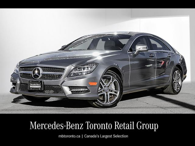 2014 mercedes benz cls550 4matic coupe toronto ontario for Mercedes benz inspection cost