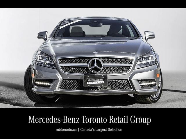2014 mercedes benz cls550 4matic coupe toronto ontario for 2014 mercedes benz cls550