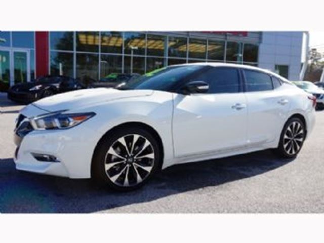 2016 nissan maxima sr pearl white lease busters. Black Bedroom Furniture Sets. Home Design Ideas