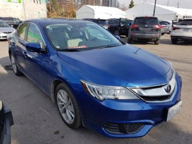 2017 Acura ILX TECH Blue   LEASE BUSTERS   Wheels.ca