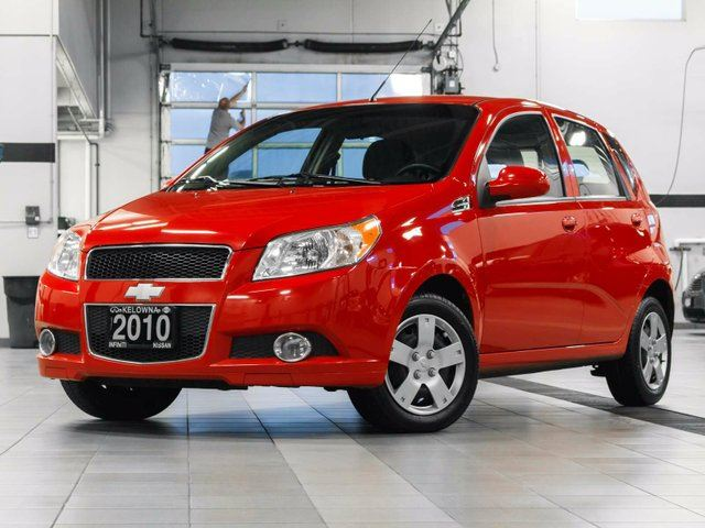 2010 chevrolet aveo ls 5 door red kelowna infiniti nissan. Black Bedroom Furniture Sets. Home Design Ideas