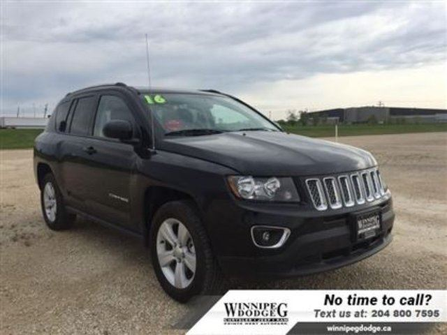 2016 jeep compass high altitude 4x4 w sunroof leather winnipeg manitoba used car for sale. Black Bedroom Furniture Sets. Home Design Ideas