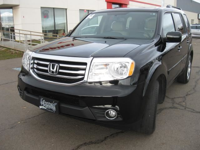 2014 honda pilot ex l black capital honda for Black honda pilot