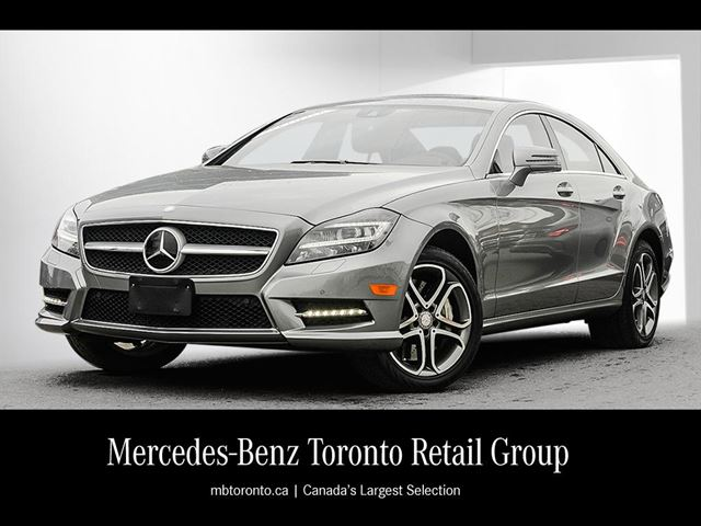 2013 mercedes benz cls550 4matic coupe palladium silver for Mercedes benz markham