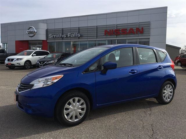 2015 nissan versa 1 6 sv smiths falls ontario used car. Black Bedroom Furniture Sets. Home Design Ideas