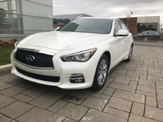 2016 infiniti q50 q50 2 0t premium package awd pearl white. Black Bedroom Furniture Sets. Home Design Ideas