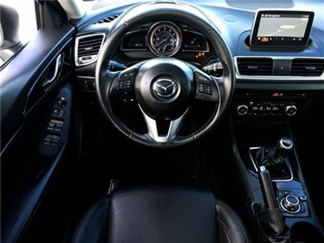 2016 mazda mazda3 gt leather sunroof heat seats back up cam gps barrie ontario used car. Black Bedroom Furniture Sets. Home Design Ideas