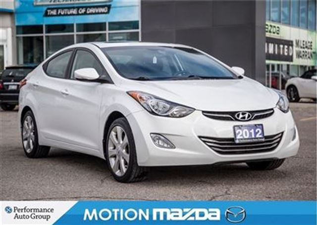 2012 hyundai elantra limited leather roof orangeville. Black Bedroom Furniture Sets. Home Design Ideas