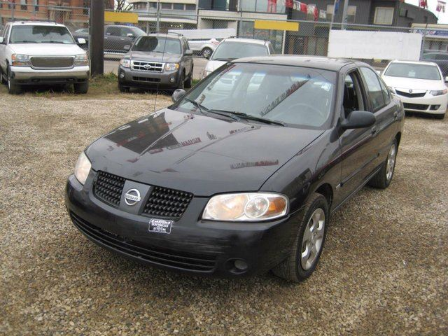 2006 nissan sentra 1 8 special edition package 4dr sedan black 780cars. Black Bedroom Furniture Sets. Home Design Ideas