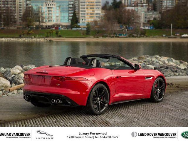 2014 jaguar f type convertible v8 s vancouver british columbia used. Cars Review. Best American Auto & Cars Review