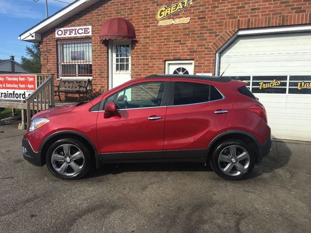 2013 buick encore leather bowmanville ontario used car for sale 2637866. Black Bedroom Furniture Sets. Home Design Ideas