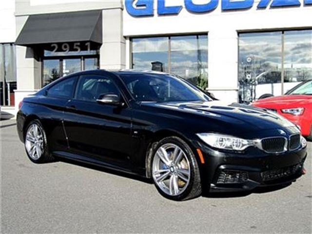 2014 BMW 435i xDrive M PKG. 6 SPEED coupe 3.0 L 6 cyl. in Ottawa, Ontario