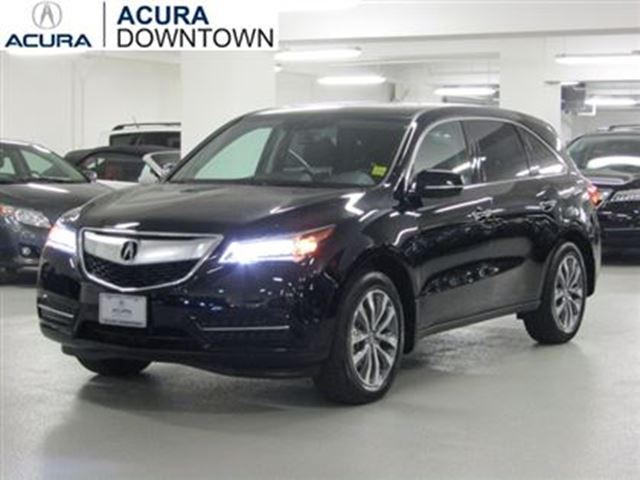 2014 acura mdx navi no accident acura certified 7yr warranty blin toronto ontario used car. Black Bedroom Furniture Sets. Home Design Ideas