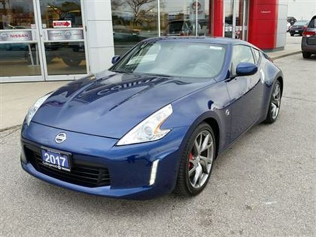 2017 nissan 370z touring sport like new executive demo collingwood ontario used car for. Black Bedroom Furniture Sets. Home Design Ideas