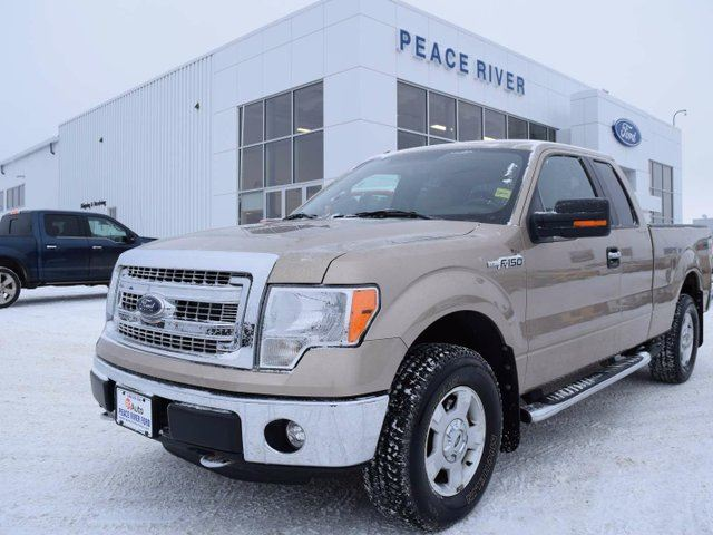 2014 ford f 150 xlt 4x4 supercab 6 5 ft box 145 in wb pale adobe peace river ford sales. Black Bedroom Furniture Sets. Home Design Ideas