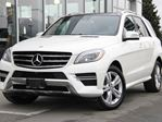 2014 Mercedes-Benz M-Class Walk Around Video | Certified | Diamond White | Driving Assistance Package | Premium Package | Bi-Xenon Headlamps | Parktronic in Kamloops, British Columbia