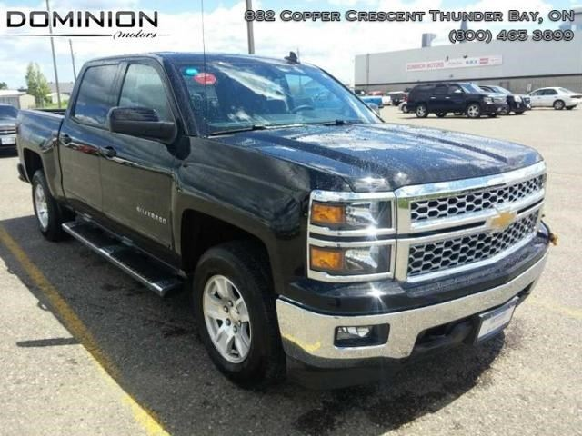 2015 chevrolet silverado 1500 lt black dominion motors Dominion motors thunder bay