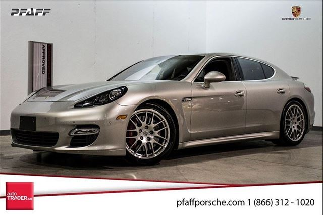 2012 porsche panamera turbo s woodbridge ontario used. Black Bedroom Furniture Sets. Home Design Ideas