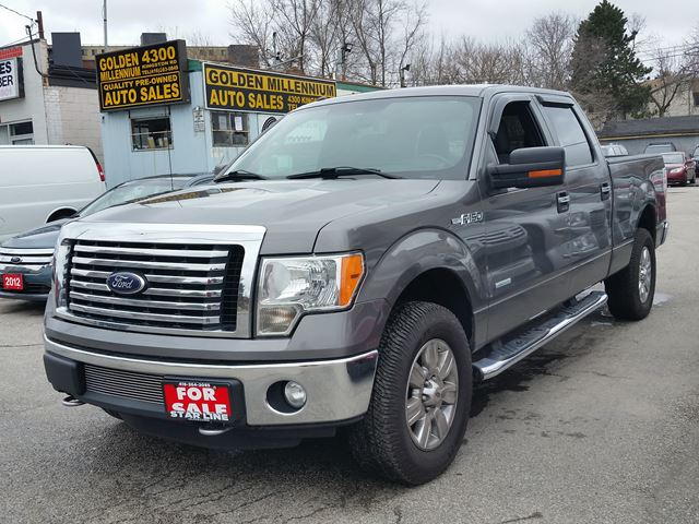 2012 ford f 150 xlt ecoboost scarborough ontario used car for sale 2639161. Black Bedroom Furniture Sets. Home Design Ideas
