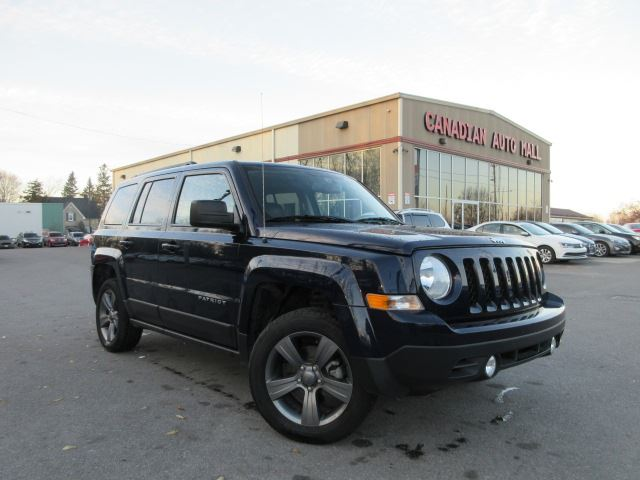 2015 jeep patriot 4x4 high altitude leather roof 43k stittsville ontario used car for. Black Bedroom Furniture Sets. Home Design Ideas