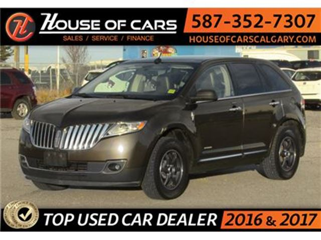 2011 LINCOLN MKX AWD / Back up Camera / Sunroof  /Leather in Calgary, Alberta