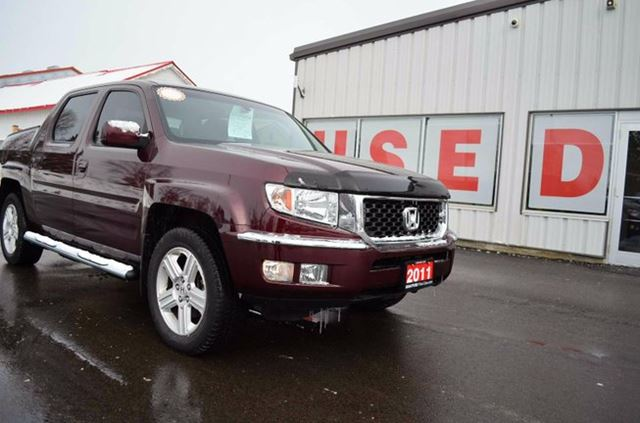 2011 honda ridgeline ex l 4x4 crew cab 122 in wb red brantford honda. Black Bedroom Furniture Sets. Home Design Ideas