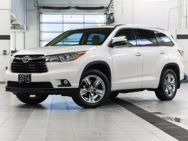 2014 toyota highlander limited awd v6 kelowna british columbia used car for sale 2639345. Black Bedroom Furniture Sets. Home Design Ideas