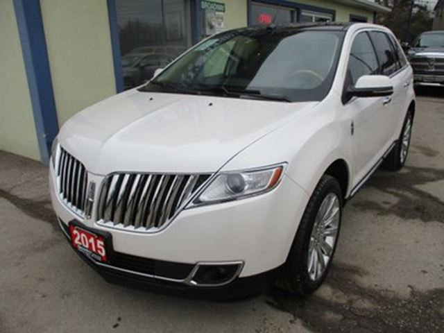 2015 LINCOLN MKX LOADED AWD 5 PASSENGER 3.7L - V6.. LEATHER.. HE in Bradford, Ontario