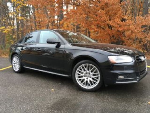 2015 audi a4 komfort quattro w sport package mississauga ontario used car for sale 2639715. Black Bedroom Furniture Sets. Home Design Ideas