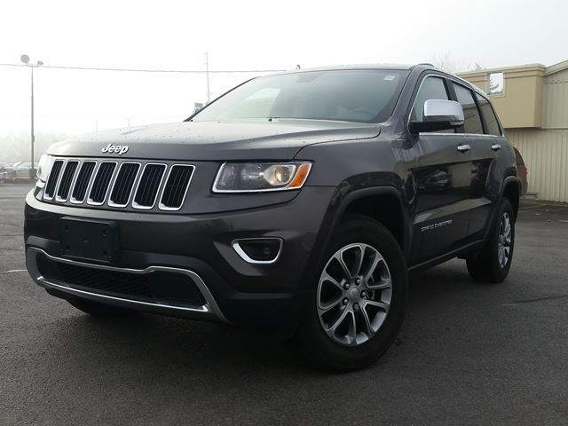 2016 jeep grand cherokee limited 4x4 port hope ontario used car for sale 2639699. Black Bedroom Furniture Sets. Home Design Ideas
