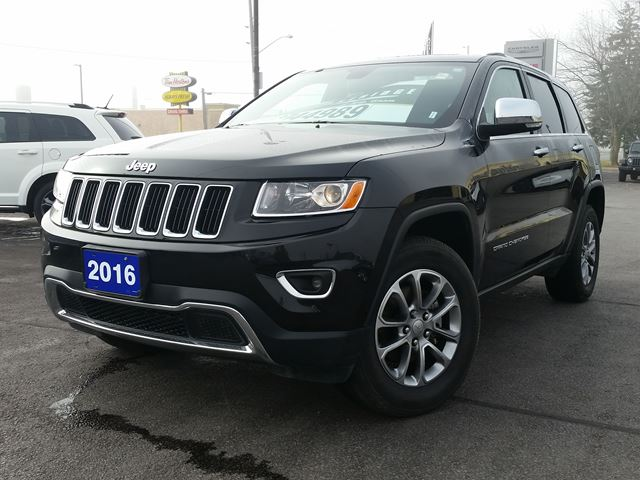 2016 jeep grand cherokee limited 4x4 port hope ontario used car for sale 2639700. Black Bedroom Furniture Sets. Home Design Ideas