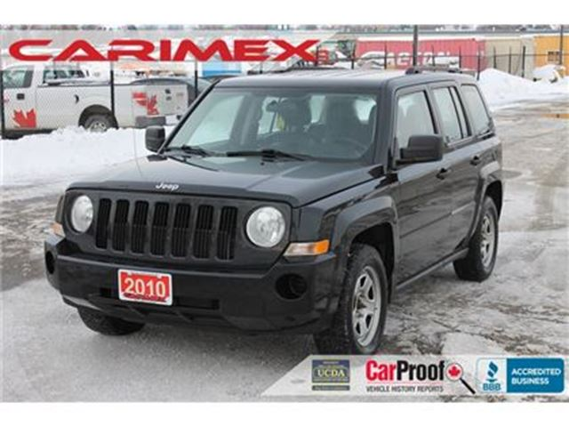 2010 JEEP PATRIOT Sport/North   Leather   CERTIFIED + E-Tested in Kitchener, Ontario