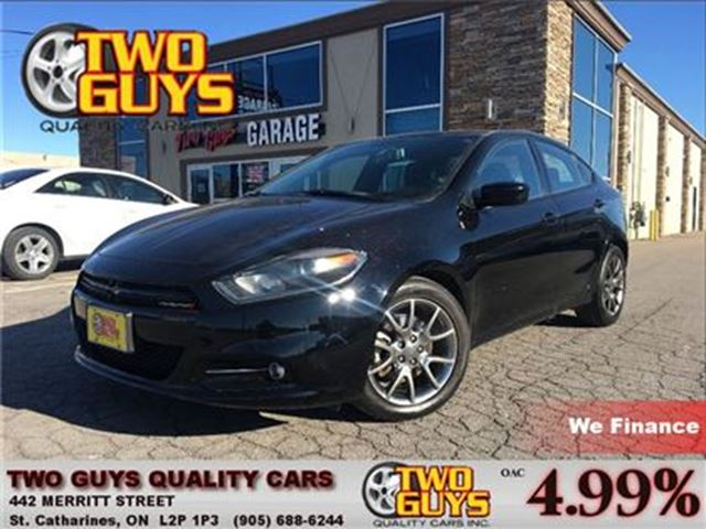 2014 dodge dart sxt rallye sunroof alpine audio st catharines ontario used car for sale 2640282. Black Bedroom Furniture Sets. Home Design Ideas