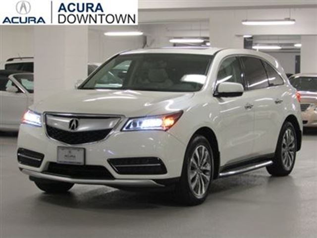 2014 acura mdx navi no accident acura certified 7yr warranty remo toronto ontario used car. Black Bedroom Furniture Sets. Home Design Ideas