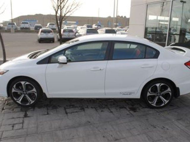 2015 honda civic si local trade in ext warranty available airdrie alberta used car for. Black Bedroom Furniture Sets. Home Design Ideas