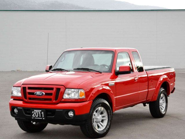 2011 ford ranger sport 4dr 4x4 super cab styleside 6 ft box 125 7 in wb kelowna british. Black Bedroom Furniture Sets. Home Design Ideas