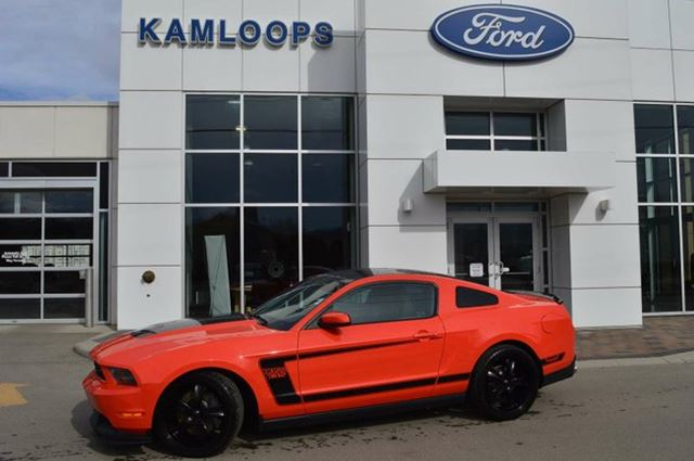 2012 Ford Mustang Boss 302 2dr Coupe in Kamloops, British Columbia